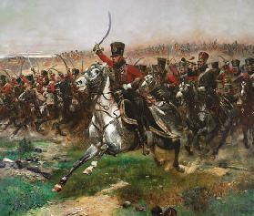 Vive L'Empereur (Charge of the 4th Hussars at the battle of Friedland, 14 June 1807)