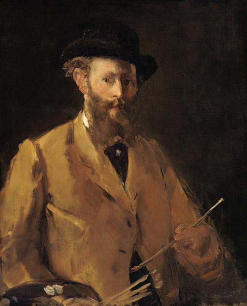 Self Portrait with Palette