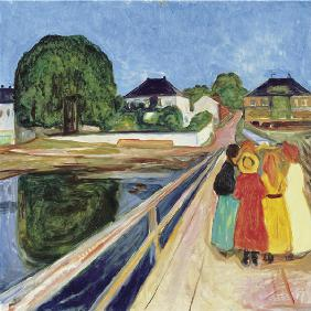 Girls on the bridge
