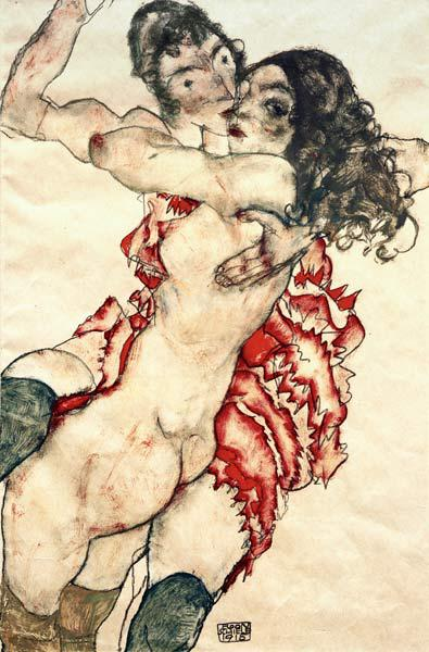 Pair of Women (Women embracing each other)