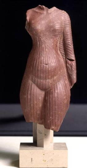 Female torso, probably Queen Nefertiti New Kingdom