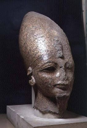 Head of Amenophis III, from Thebes, New Kingdom