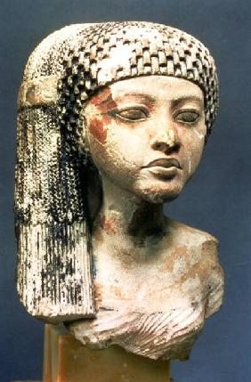 Head of a Princess from the family of Akhenaten, New Kingdom