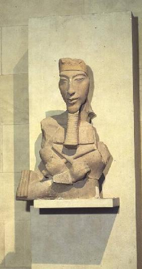 Osiride pillar of Amenophis IV (Akhenaten) from Karnak, New Kingdom