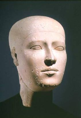 Portrait head from the graves of the Giza necropolis