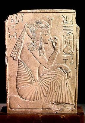 Relief depicting Ramesses II (1279-1213 BC) as a child, New Kingdom