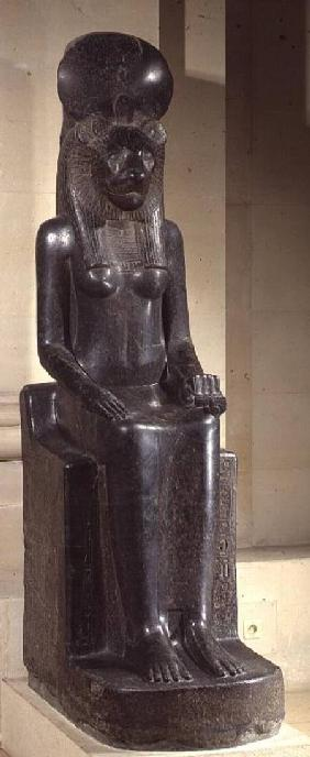 Statue of the lion-headed goddess Sekhmet, from the Temple of Mut, Karnak, New Kingdom