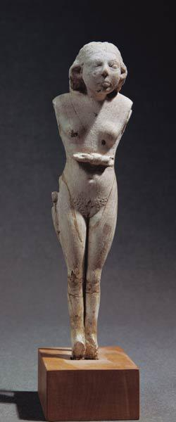 Statuette of a nude female, Thinite Period