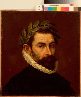 Portrait of the Poet Alonso de Ercilla y Zuniga (1533-1594)