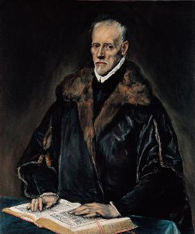 Portrait of Dr. Francisco de Pisa