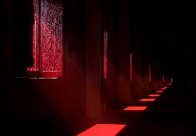 In the red temple