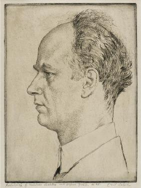 Portrait of Wilhelm Furtwängler (1886-1954)