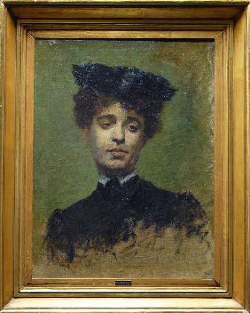 Portrait of Marie Lemasson