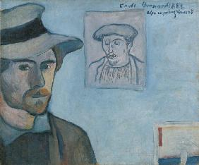 Self-portrait with Portrait of Gauguin