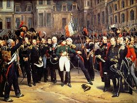 Les Adieux de Fontainebleau, 20th April 1814
