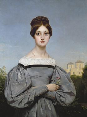 Portrait of Louise Vernet (1814-45) Daughter of the Artist
