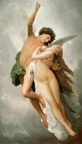 Emile Signol - The Abduction of Psyche