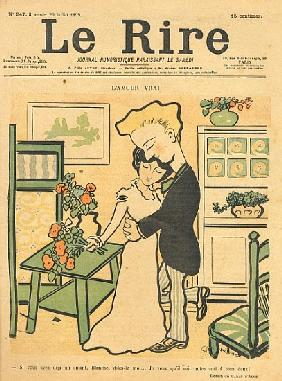 True Love, from the front cover of ''Le Rire'', 29th July 1899