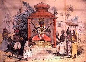 India, Figure and worship of Kali