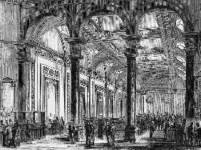 Interior of Lloyd''s of London