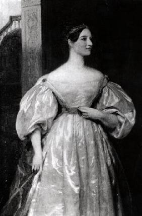 Portrait of Augusta Ada Byron (1815-52) Countess of Lovelace