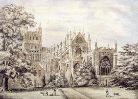 Exeter Cathedral, East End  on