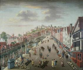 Bristol Docks and Quay, c.1760 (oil on canvas)