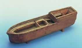 Model of the slave ship 'Brookes' used by William Wilberforce in the House of Commons to demonstrate