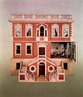 The Tate baby doll's house, 1760 (mixed media)