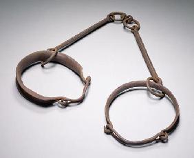 Two slave collars, c.1790 (iron)