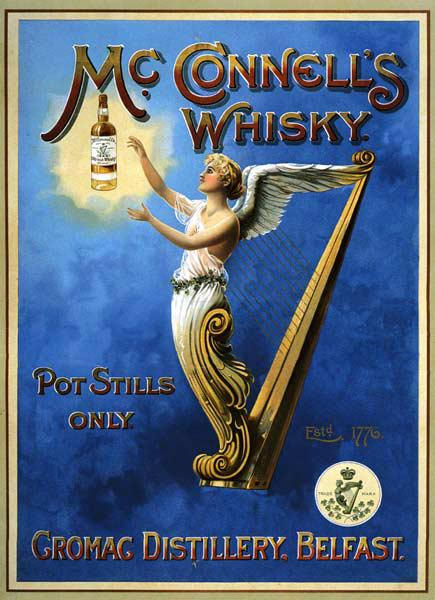 Poster advertising McConnell's Whisky