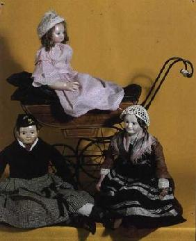 Victorian dolls, Rosa Mary, Sandy and the Nurse