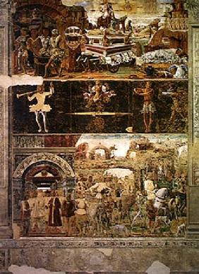 The Month of September: The Triumph of Vulcan and the Sign of Libra, from the Room of the Months