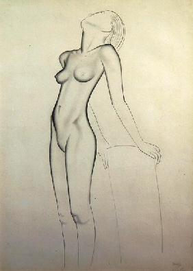Nude, 1927 (pencil on paper)