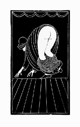 The Chinese Maidservant (woodcut engraving)