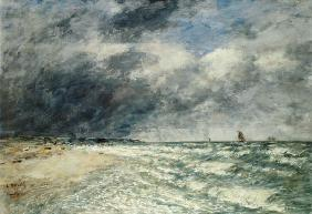 Gusty Weather over the Sea, Deauville