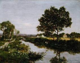 River on the Outskirts of Quimper