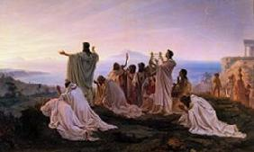 Hymnus to the setting Sun in Ancient Greece