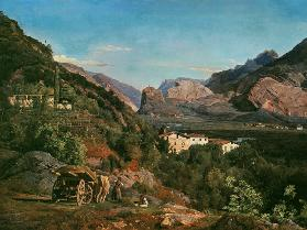 Waldmueller / View of Arco / 1841