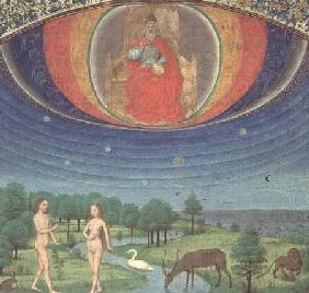 Earthly Paradise, from a Book on the Seven Ages of the World