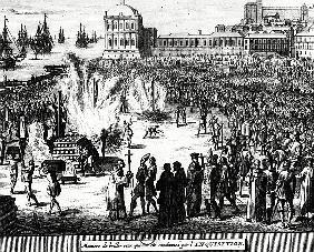 Method of Burning those Condemned the Inquisition