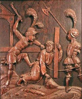 Our Saviour Falls while Carrying the Cross, from the chapel
