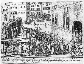 Scenes of the Spanish Inquisition at Ghent, June 1578