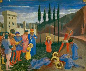 The Beheading of Saint Cosmas and Saint Damian