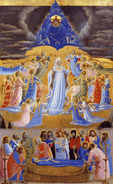 Death and Assumption of the Virgin