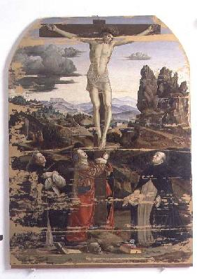 Crucifixion with St. Dominic, St. Mary Magdalene and St. Peter Martyr