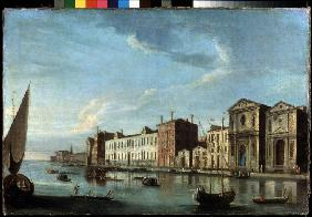 View of Santo Spirito and Zattere in Venice