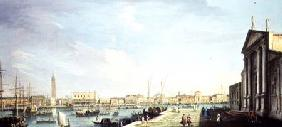 The Bacino di San Marco, with the Doge's Palace and the Riva degli Schiavoni