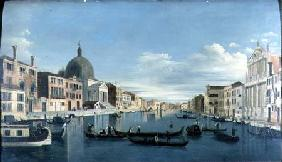 The Grand Canal, Venice with San Simeon Piccolo