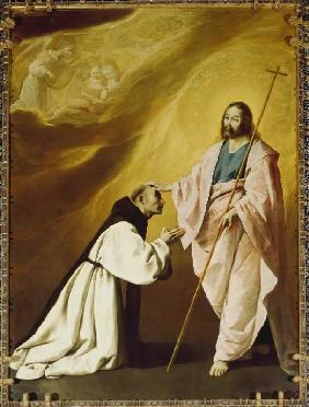 The vision of the Padre Salmeron